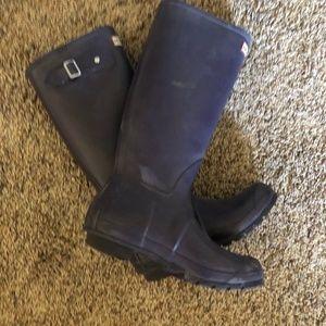 Hunter Rain Boots - Purple